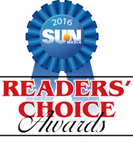 Readers Choice Award Winner 2016, 2015, 2012, & 2010